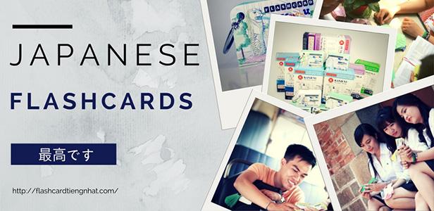 Chào mừng đã đến với Flashcard tiếng Nhật